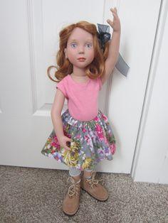 Zwergnase Junior Doll Azalea Dolls, Floral, Skirts, Collection, Fashion, Baby Dolls, Moda, Fashion Styles, Skirt