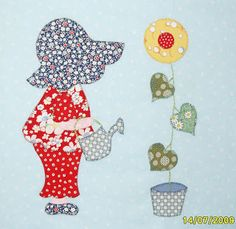 Sunbonnet Sue by Elly D at Mad 4 Patchwork (North Scotland, UK)