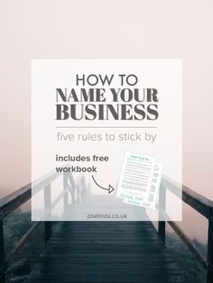 How To Name Your Business: 5 Rules To Stick By | Coming up with a business name is hard work. This guide is perfect for creative entrepreneurs, bloggers and small business owners who are starting a business or planning a rebrand! Click through to find out my top tips and tricks for naming a business and get your hands on your free workbook! http://solutionsforall.co.uk