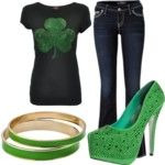 Feel'n Blue - Polyvore.....happy st Patrick's day! I would love his for when I go to Clearwater