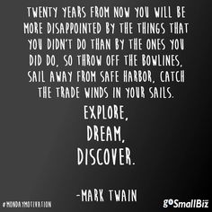 Do it. #quote #leadership #sucess #Twain