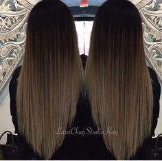 ombre Dyed Hair Purple, Dyed Hair Pastel, Dye My Hair, Ombre Hair Color, Brown Hair Balayage, Brown Blonde Hair, Light Brown Hair, Hair Highlights, Haircuts For Long Hair