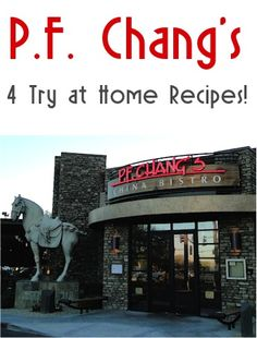 P.F. Chang's: 4 Restaurant Recipes to Try at Home! #copycat #recipe #thefrugalgirls