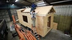TINY HOUSE BUILD #4 with Jacob and Ana White - YouTube