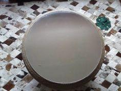 Mesa Artesanal De Fio De Rami - R$ 450,00