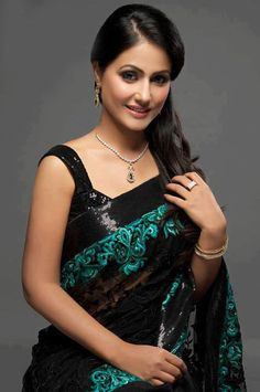 Hina Khan Bollywood Designer and Party Wear SareeTNGTM-59 - Craft Shops India