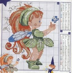 The cutest little pixie  WITH COLOR CHART.cj