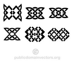 Simple geometric shapes in vector format.