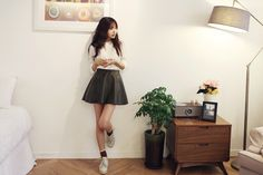 Girlish ERIS style :)  come 2 itsme!>>http://www.itsmestyle.com/?act=product__showBrandMain&brandCode=E  #girl #itsmestyle #eris #new #kpop #shopping #style #koreanstyle #outfit #shoes