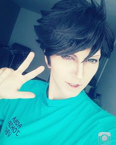 I've imrpoved my make-up for Oikawa today u||v||ù (It takes a long long time before I'm happy with my make-up xDD) ONLY 3 DAYS LEFT TILL THE NEW HAIKYUU SEASON!!! OH GOOOOD NGHHHH!!!!  Oikawa cheers you up (っゝڡ o)Y #cosplay #crossplay #cosplayer #new #cosplaymakeup #anime #manga #animecosplay #volleyballhomos #volleyball #haikyuu #hq #haikyū #haikyuucosplay #oikawatooru #oikawa #oikawacosplay #oikawatoorucosplay #setter #thegreatking #sportanime #aobajousai