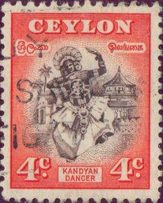 Ceylon - Dancer from Kandy