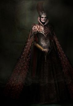 """Costume concept art for the Krypton Council by Phillip Boutte Jr from """"Man of Steel"""" (2013)."""