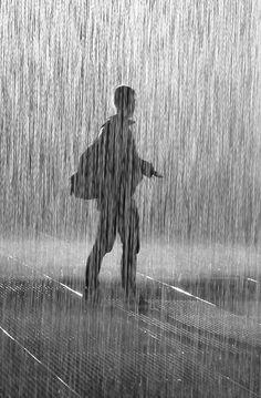 #Rain #silhouette #photography