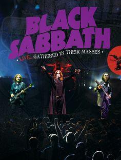 Black Sabbath - Black Sabbath Live: Gathered In Their Masses Dvd Black Sabbath Live, Black Sabbath Albums, Black Sabbath Concert, Black Sabbath Album Covers, Heavy Metal, Black Metal, Woodstock, Rock Bands, Metal Bands