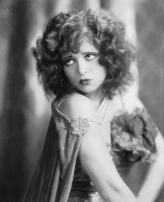 Vintage Hair Inspiration:: Clara Bow--- these voluminous curls would be super cute with  a vintage headband or bow! Great Retro inspired look for short hair! :: Fun Hairstyles:: Vintage Inspired Hairstyles