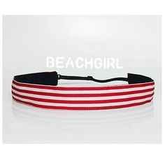 Earn Your Stripes ~  Non Slip Adjustable Headband