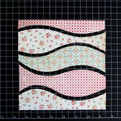 How to Make Layered Patterned Paper Waves by Guest Designer Stacy Cohen