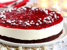 Christmas Treats, Deli, Panna Cotta, Cheesecake, Baking, Ethnic Recipes, Sweet, Desserts, Food