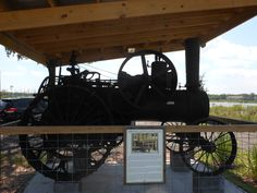 An Old Steam Engine, from Orlando's Welcome Center.