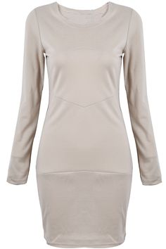 To find out about the Khaki Long Sleeve Simple Design Bodycon Dress at SHEIN, part of our latest Dresses ready to shop online today! Style Me, Cool Style, Khaki Dress, Fashion Beauty, Womens Fashion, Latest Dress, Fall Dresses, Dream Dress, Casual Outfits