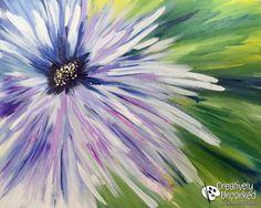 Bold Flower | Creatively Uncorked | http://creativelyuncorked.com