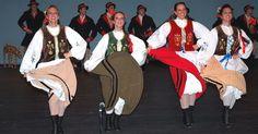 Kashubian Dance- Kaszuby Region Costumes