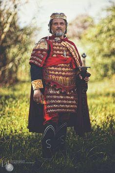 Reenactor as John I Tzimiskes, Byzantine emperor. Photo by Domenico Semeraro.