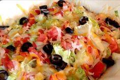 Taco Casserole with a Surprise Crust