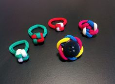 Picture of Fashion finger rings: Paracord pieces of length 6-8 inch
