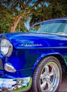WOW! This 1956 Chevrolet Bel Air is SPECIAL! Best classic car ever? http://www.ebay.com/itm/Chevrolet-Bel-Air-150-210-Pro-Touring-/161261500570?roken2=ta.p3hwzkq71.bdream-cars #spon