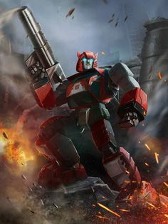 Autobot Cliffjumper Artwork From Transformers Legends Game
