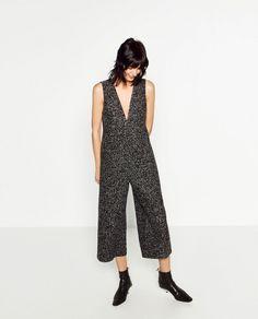 printed ZARA jumpsuit for $49.9