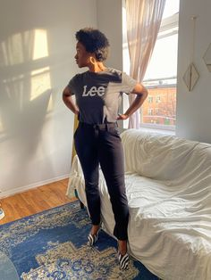 Loungewear is so last year, but comfort is definitely here to say. Give your WFH looks the upgrade they deserve with these Flex Motion Regular Fit Straight Leg Pant. Keep the look casual by pairing with one of our Lee Logo Graphic Tees or dress it up with some accessories or your favorite heels. No matter the look you're going for, comfort won't be missed. Lee Jeans, Angel Wings, Straight Leg Pants, Loungewear, Casual Looks, Going Out, Graphic Tees, Logo, Heels
