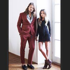 Louis Leeman x Erica Pelosini @louisleemanparis @ericapelosini #street #styling #stylish #streetstyle #fashion #fashionable #luxury #luxurylife #dress #hair #men #mensstyle #mensfashion #slippers #boots #shoes #loafers #luxuryshoes #lovers #italy #italian #france #paris