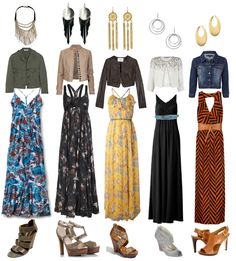 Re-pin: Love all of these outfits. Maxi dresses are AMAZING!!!!!!!!! Perfect for a casual look or something a little formal. Im on the hunt for maxi dresses of all kinds this summer