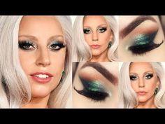 Lady Gaga Makeup Tutorial - Maquiagem Olhar de Vilã Rica <3 <3