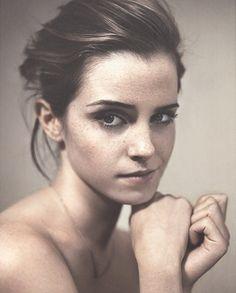 Fresh, Clean make up Emma Watson