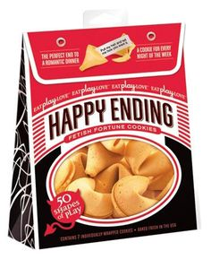 Happy Ending Fortune Cookies - 50 Shades Of Play Edition - 7 Pack  by Icon Brands Inc $10.40