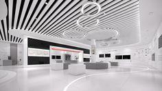 HuaWei Business Presentation Center on Behance