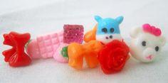 Cute Post Earrings by PrettyNCrafts on Etsy, $6.50