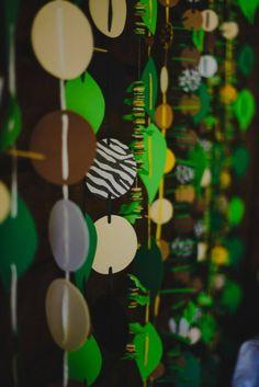 Cumpleaños selva