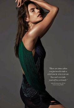 Harpers Bazaar Australia October 2014 | Alessandra Ambrosio by Simon Upton