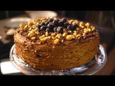 Borbás Marcsi szakácskönyve – Mogyorós csokoládétorta (2019.03.03.) - YouTube