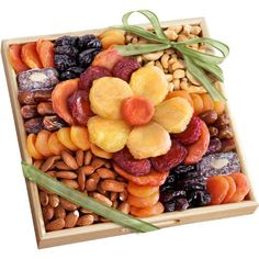 Golden State Fruit Flora Dried Fruit and Nut Gift Tray - http://mygourmetgifts.com/golden-state-fruit-flora-dried-fruit-and-nut-gift-tray/