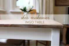 IKEA 'INGO' Table Hack Makeover Www.everythingsrosieblog.com