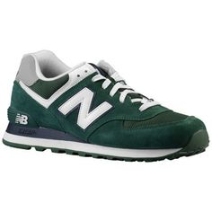 Authentic New Balance 574 Mens Laced Suede   Mesh Trainers Core Green White  Navy UK Store Online. umarxion · SNEAKERS 660ad2bea05
