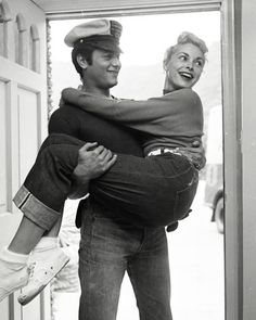 Tony Curtis and Janet Leigh c. 1950's