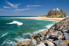 Newcastle Beach is in the top 10 places in the world to see. The beach my baby seen :) Newcastle Beach, Newcastle Nsw, Australian Road Trip, Australian Beach, The Places Youll Go, Places To See, Adventure Is Out There, Travel Goals, Wanderlust Travel