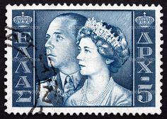 Greece-1957-King-Paul-and-Queen-Frederica
