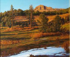 AVAILABLE I Spring Break I 20x24 I Dix Baines I Fine Artist Original Oil Paintings I Mountains I www.dixbaines.com